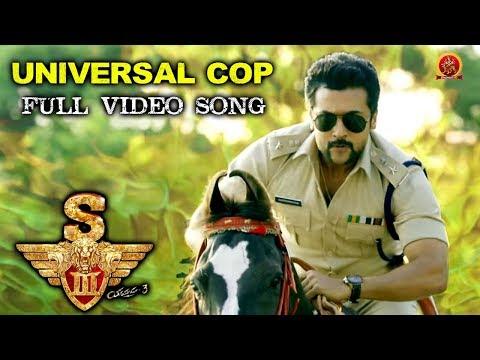 S3 (Yamudu 3) Full Video Songs - Universal Cop Full Video Song - Surya, Anushka, Shruthi Hassan