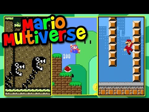 9 Mario Multiverse Levels! | Like Super Mario Maker | BTG