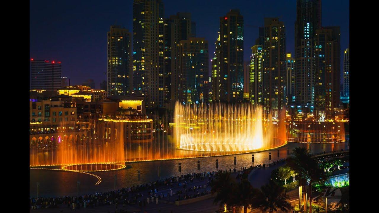 Dubai Water Fountain Show Hd Youtube