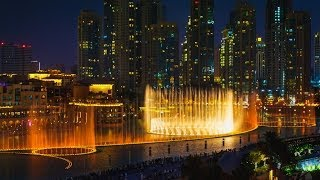 Dubai Water Fountain Show (HD)