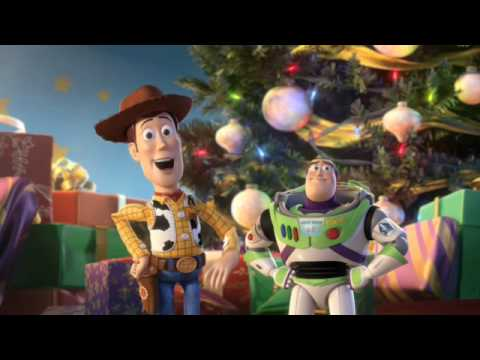 TOY STORY 2 | Merry Christmas From Woody and Buzz! | Official Disney Pixar UK