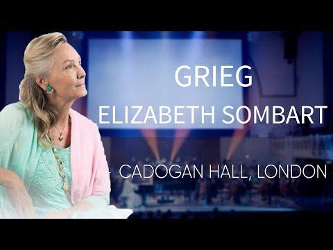 GRIEG - Piano Concerto in A Minor, Op. 16, Adagio  - Elizabeth Sombart LIVE