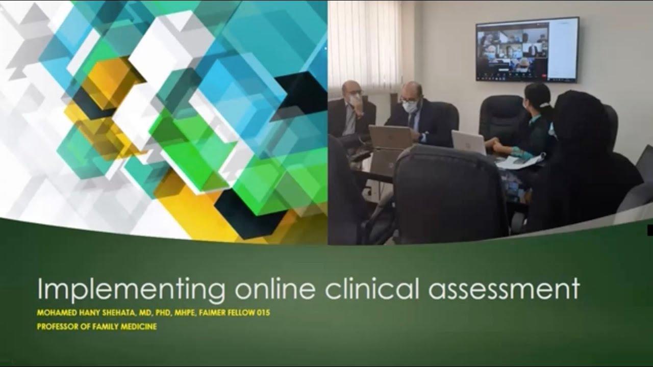 Online OSCE during COVID-19 Pandemic: Arabian Gulf University