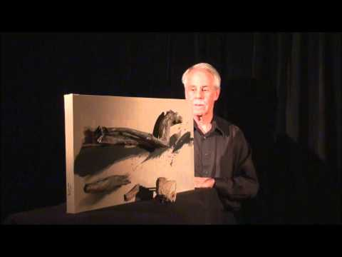 Shadow Art Abstract Painting 3D Assemblage  - Ma 12 Rhythm Study