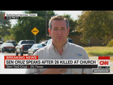Ted Cruz on Texas Church Massacre: 'Depraved Madman' Had a 'Peculiar Evil'