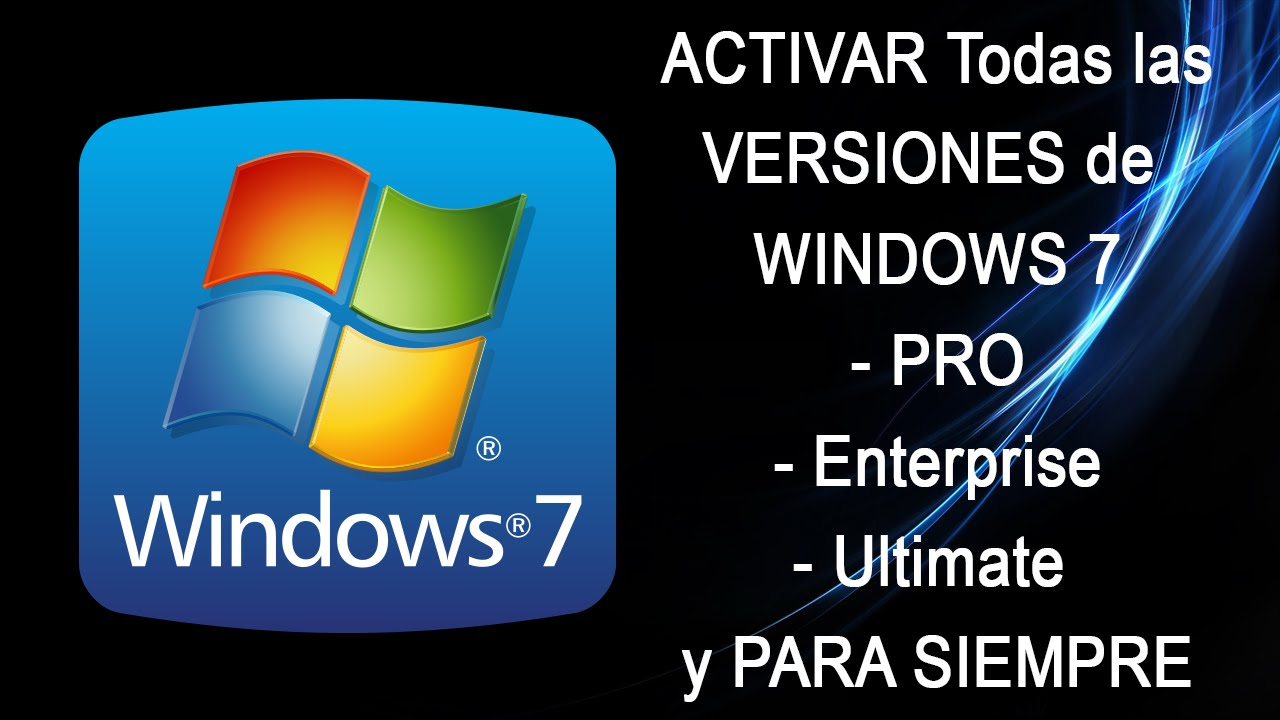 windows 7 professional serial de oro