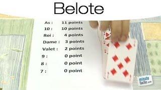 Règles du jeu de la Belote