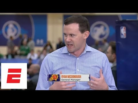 Suns GM on who they might draft No. 1 overall, what it would take for Phoenix to trade pick | ESPN