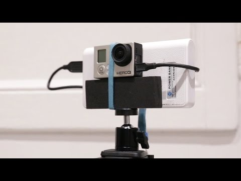 Easy and cheap DIY gopro mount and Long recording hack