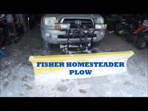 Fisher Homesteader Plow (In Action!!)