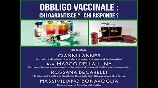 Obbligo Vaccinale - conferenza (Intervento dell'Avv. Marco della Luna)