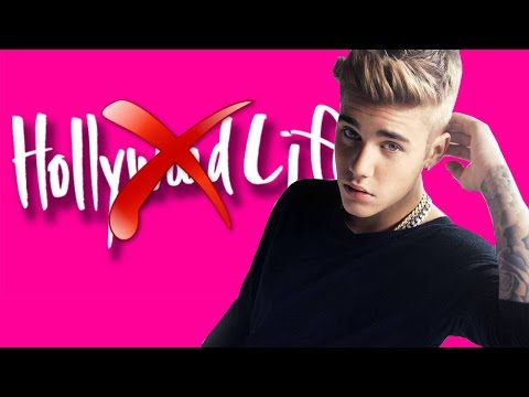 Justin Bieber Is Trying To Shut Down HollyWoodLife Website