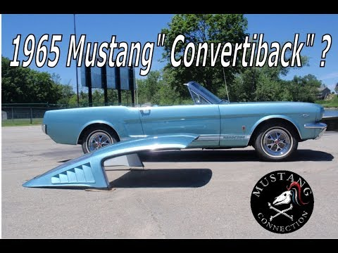 Convertiback? 1965 Mustang Fastback And Convertible All In One ?