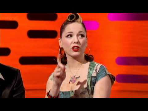 Imelda May sings Inside out on Graham Norton 7th jan 2011.