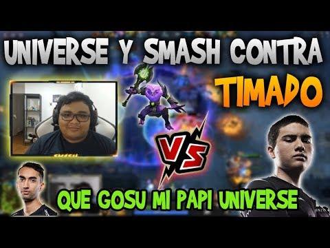 SMASH JUGANDO VOID VS TIMADO Y SU MEDUSA!! UNIVERSE GOSU! | DOTA 2 thumbnail