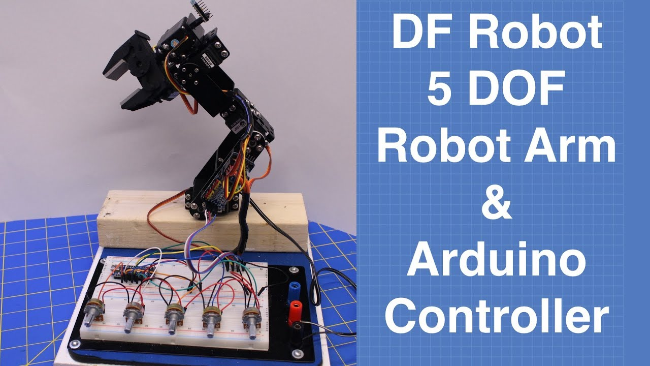 5-DOF Robotic Arm-DFRobot
