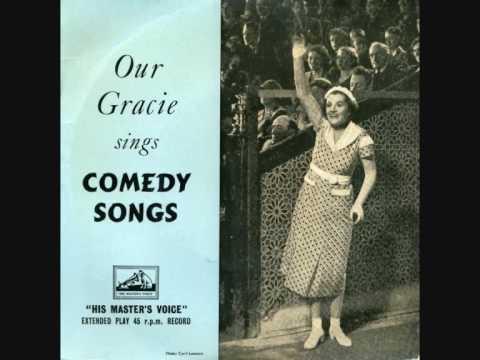 GRACIE FIELDS - 'The Biggest Aspidistra In The World' + 'Singin' In The Bathtub'
