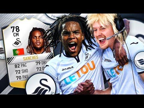 THE BEST TRANSFER?! SWANSEA RENATO SANCHES! THE ULTIMATE SWANSEA SQUAD! FIFA 17 ULTIMATE TEAM