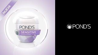 Pond's® Sensitive te ayuda a prevenir la irritación en tu piel. thumbnail