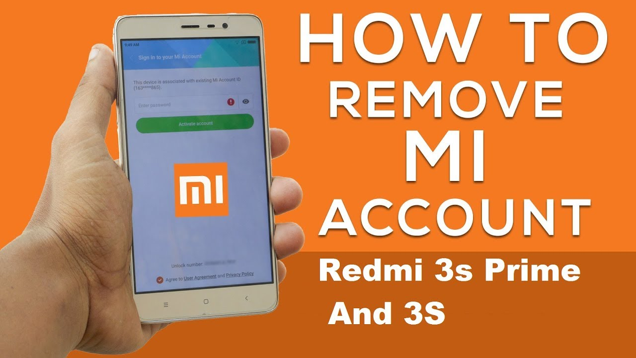 Redmi 3s Prime And Remove Mi Account Lock 100 Working Method Xiaomi Pro 3 32 Gb Rom Global Gold With Downgrade Miui