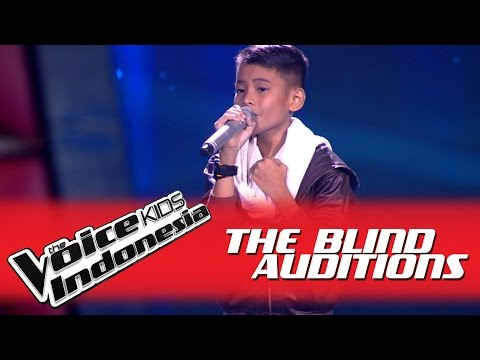 "Vavel ""Saat Terakhir"" I The Blind Auditions I The Voice Kids Indonesia GlobalTV 2016"