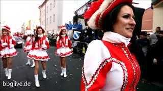 Rosenmontagsumzug zum Karneval in Köthen 2018