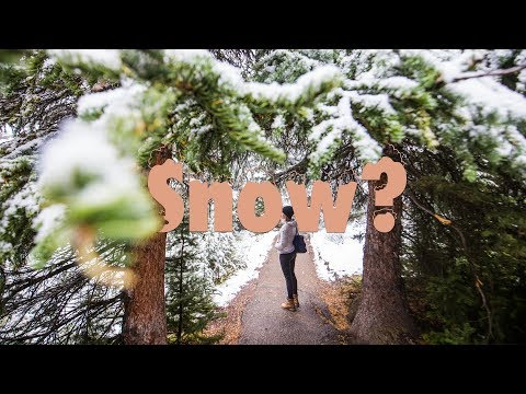 Snow in September? Winter Photography in Canada