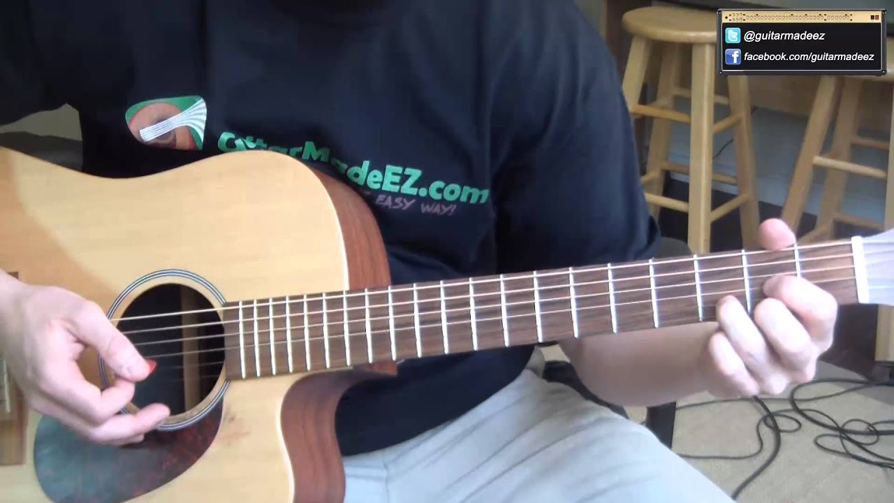Led Zeppelin Hey Hey What Can I Do Guitar Tutorial Made