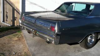 1963 PONTIAC GRAND PRIX WITH FLOW MASTERS