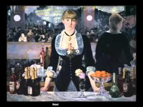 03   Realism   19   Manet, A Bar at the Folies Bergère