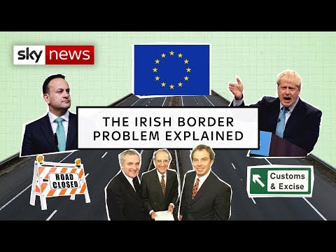 Irish border: The backstop explained