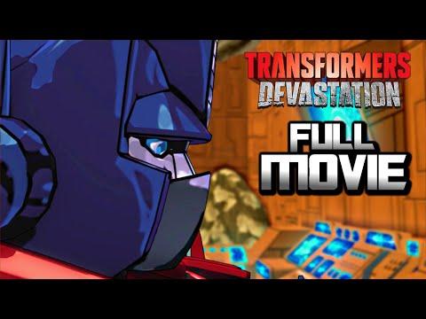 TRANFORMERS DEVASTATION FULL MOVIE [HD] (2015) Full Walkthrough + ENDING