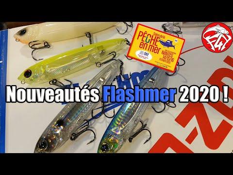 SALON NANTES 2020 : NOUVEAUTÉS FLASHMER , Yo-Zuri 3DR PENCIL PROP ET Yo--Zuri 3DR PENCIL 125