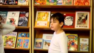 """Школа 1968.Библиотечный урок 2-б(  басня И.А.Крылова """"Стрекоза и муравей"""")"""