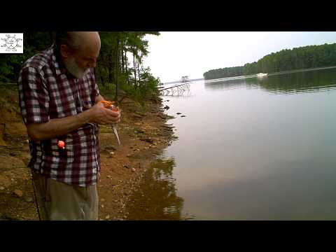 Uncle Steve Fishes New Hope Overlook