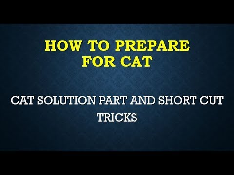 CAT 2016 COMPLETE SOLUTION SOLVE PART 2 WITH ANALYSIS COMMON ADMISSION TEST