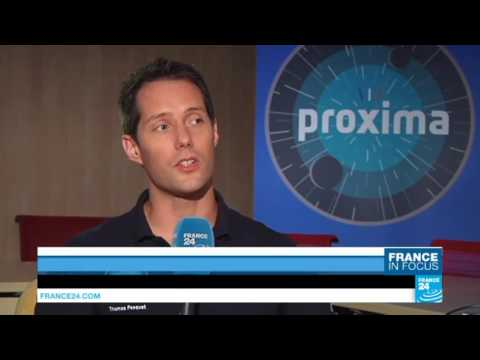Out of this world: France 24 blasts off into space