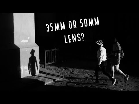 35mm or 50mm Prime Lens??? Which to choose for Street Photography