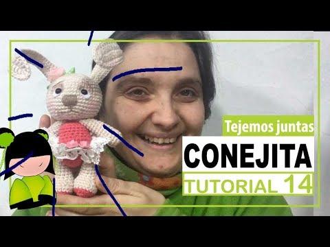 Conejita amigurumi paso a paso | TEJEMOS JUNTAS? | Parte  14 | maquillaje y agradecimientos