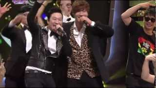 Repeat youtube video Kim Jong Kook & HaHa - 2011 SBS 연예대상 Special Stage - December + Rosa