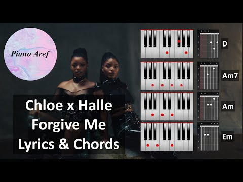 chloe-x-halle---forgive-me-(lyrics-and-chords)-for-piano-and-guitar