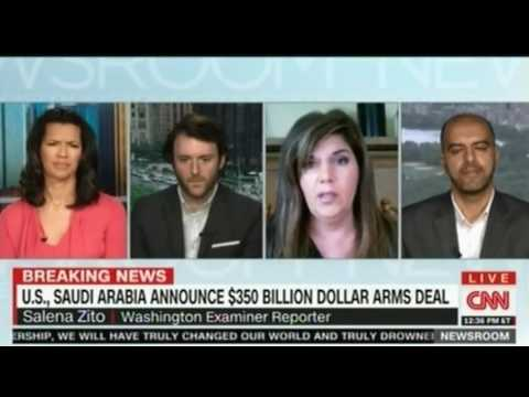 CNN Panel discussion on  Tillerson and Saudi Arabian Foreign Minister news briefing
