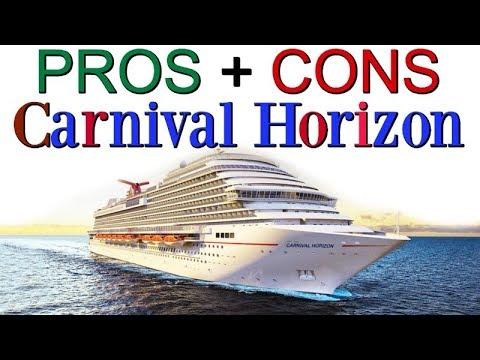 PROS & CONS Carnival Horizon Review!