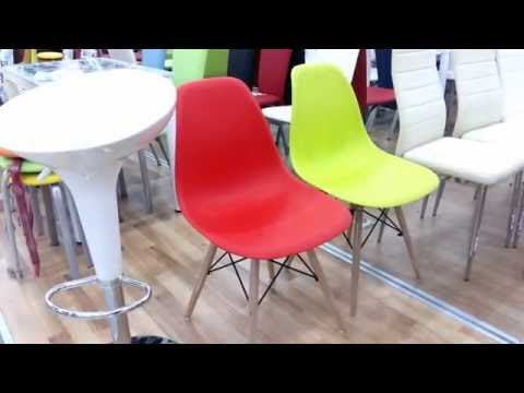 Пластиковые стулья для кухни купить в Киеве. Стулья пластиковые Marie (Мария).