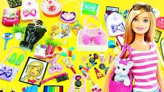 100 Kolay Barbie Eşyaları Yapımı - Nasıl Yapılır? Kendin Yap