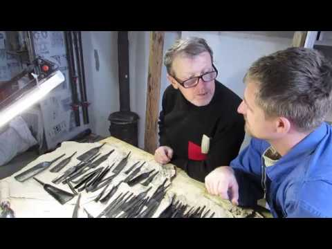 Frank conversation with a smith. The carving tool, and even a little more