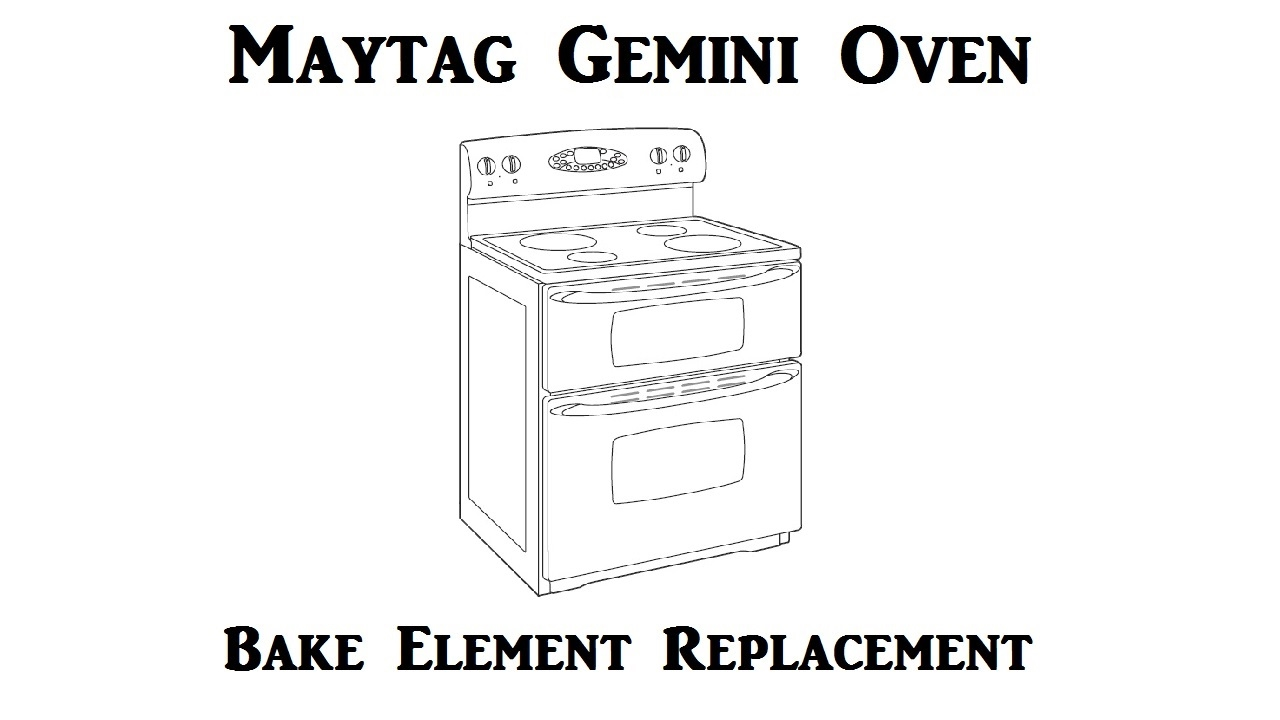 medium resolution of maytag gemini range element replacement