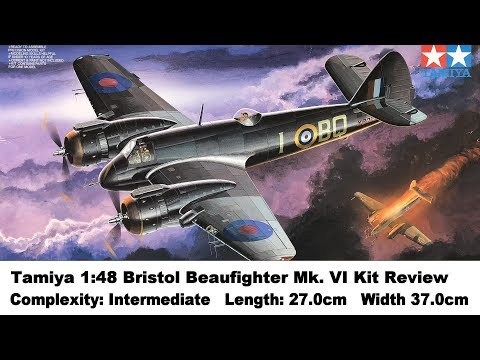 Tamiya 1:48 Bristol Beaufighter Mk.VI Kit Review
