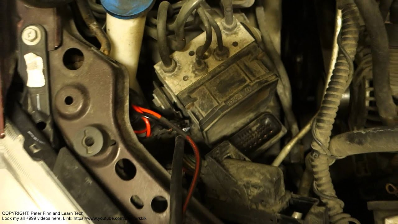 2007 Toyota Yaris Wiring Diagram How To Open Abs Brake System Central Unit Main Cable