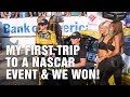 My First Trip To A NASCAR Event And We Won!